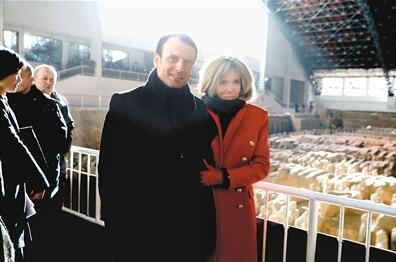 法国总统马克龙访华 品味丝路起点文化