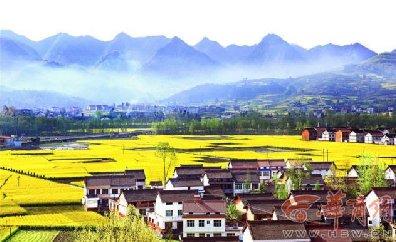 中国最美油菜花海汉中旅游文化节将开幕